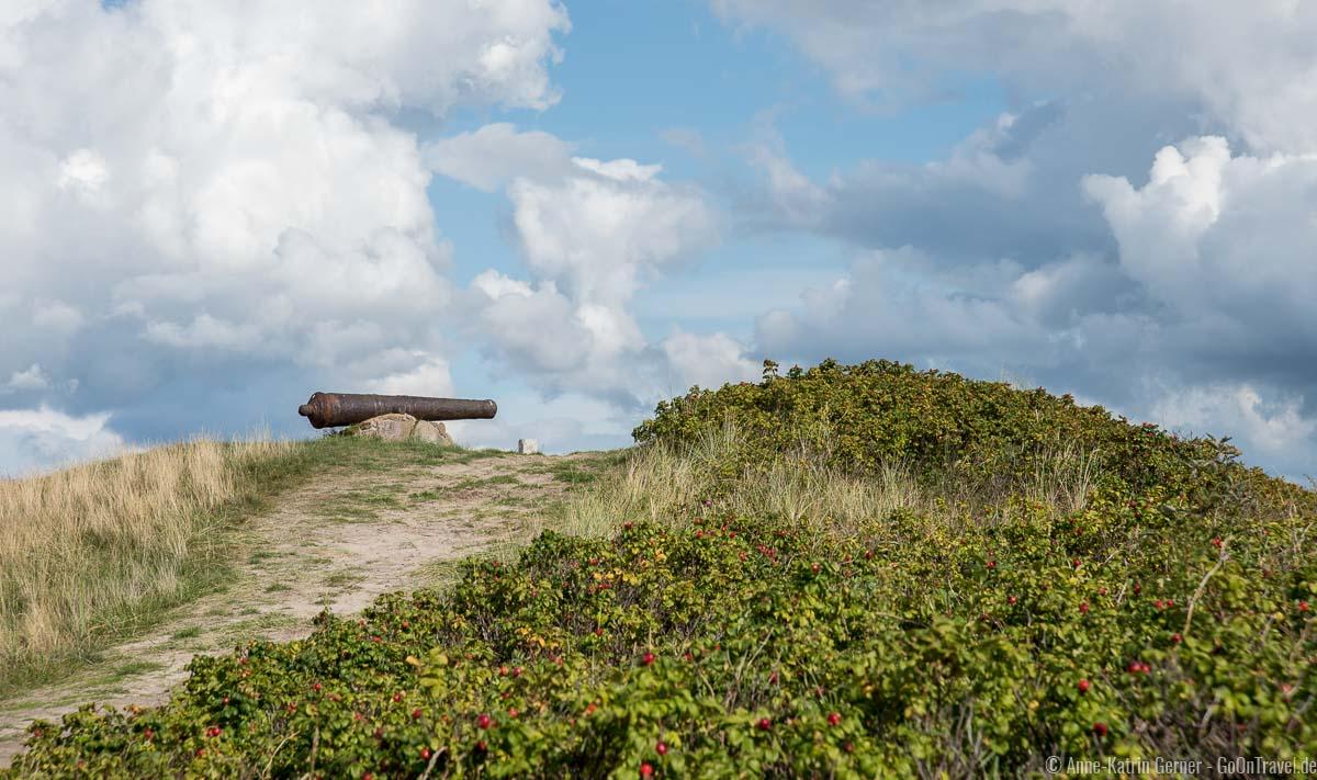 Kanonenhügel in Havneby