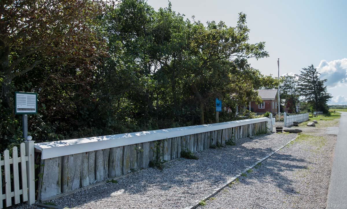 Walknochen-Zaun in Juvre auf der Insel Römö