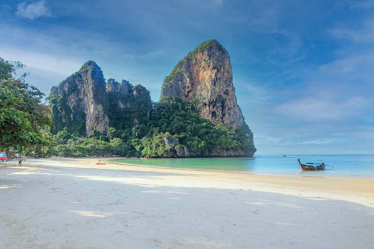 Traumstrand in Thailand: Railay Beach in Krabi