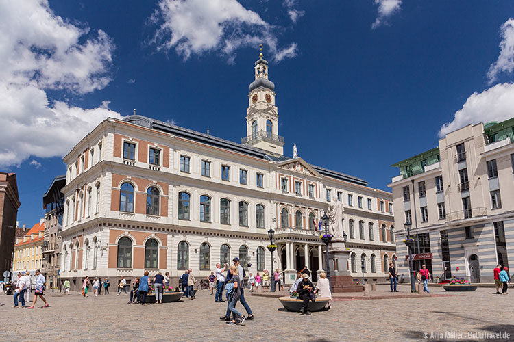 Das Rathaus in Riga