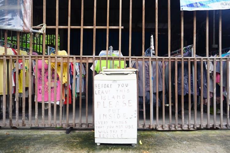 Recycling auf thailändische Art