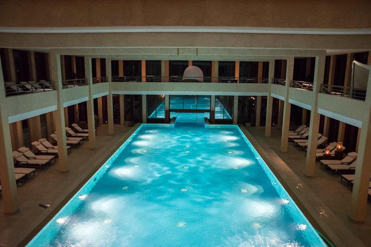 Poolbereich im A-ROSA Sylt