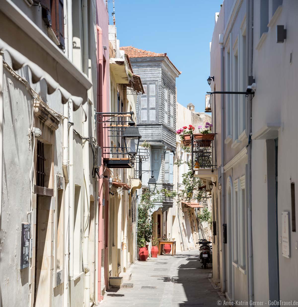 historische Altstadt fernab der Touristenströme