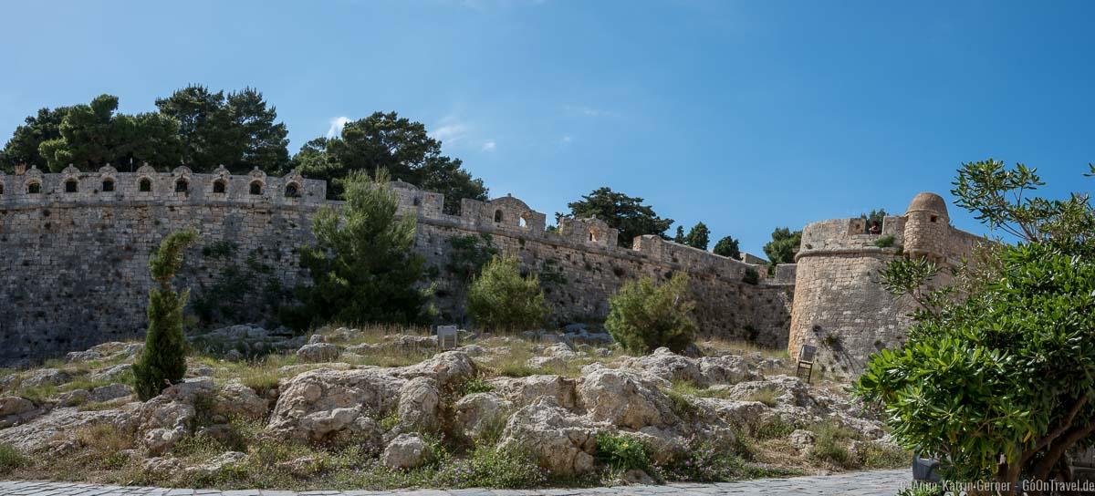 An der Festung von Rethymno