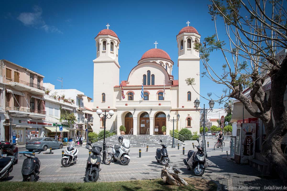 Die Kirche Tessaron Martyron im Zentrum von Rethymno