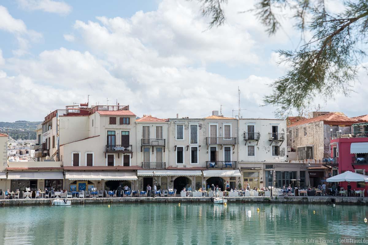 Tavernen und Restaurants am Hafen von Rethymno