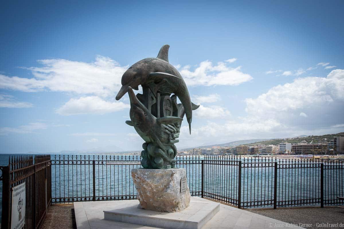Das Gemeindelogo von Rethymno