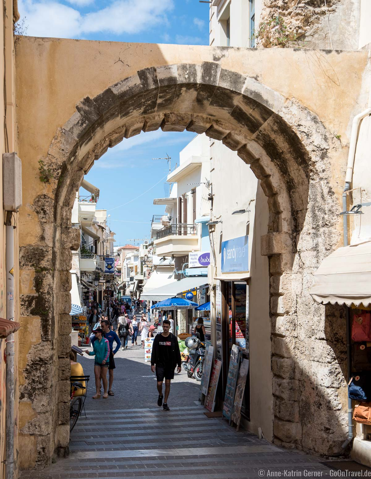 Guora-Tor in Rethymno
