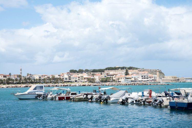 Rethymon Hafen Kreta Griechenland