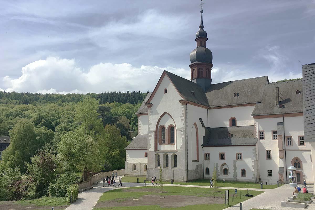 Das Kloster Eberbach im Rheingau