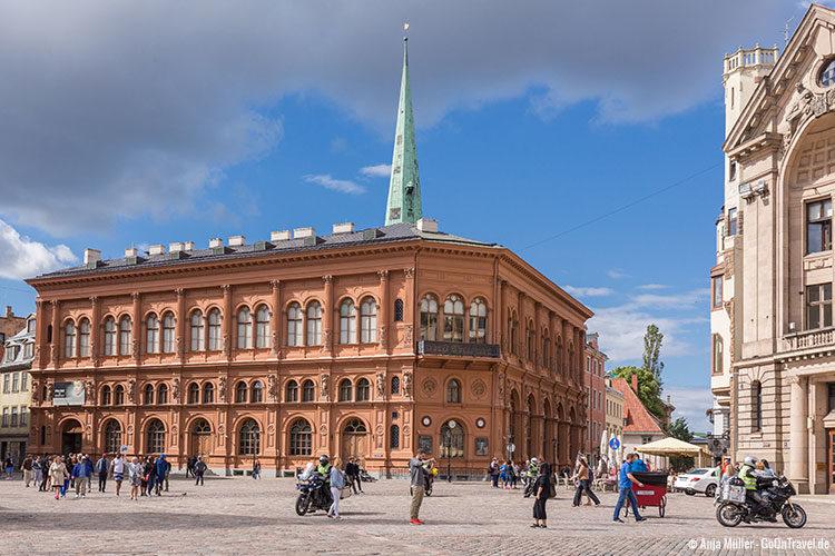 Die Rigaer Börse am Domplatz