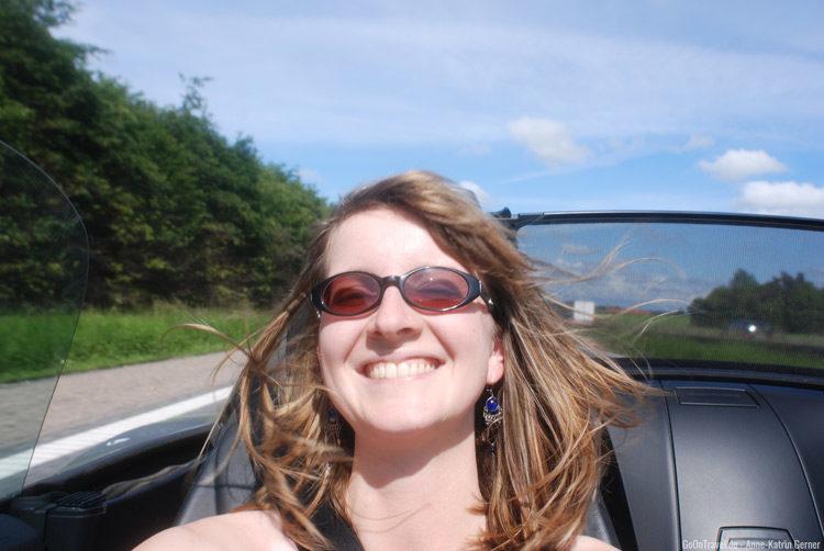 Roadster Roadtripfeeling mit Anne