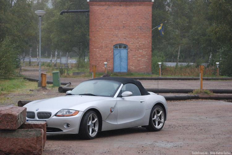 Mit dem Roadster auf Roadtrip durch Schweden