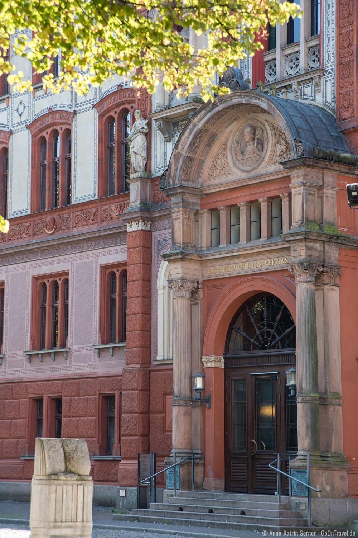 Eingang Universität Rostock