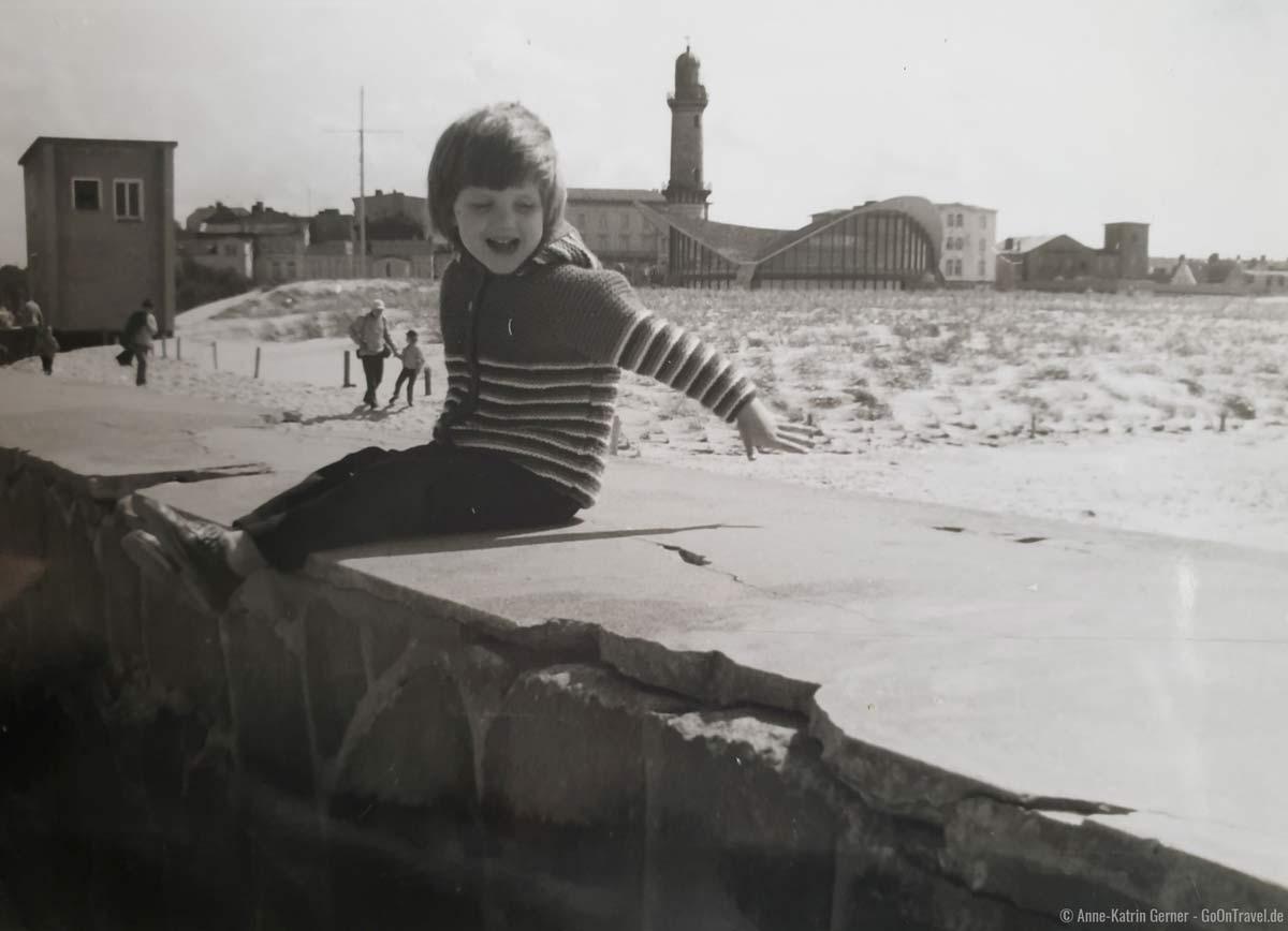 Rostock-Warnemünde im Sommer 1983