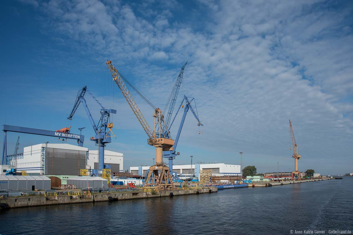 Rostocker Industriekultur am Ufer der Unter Warnow