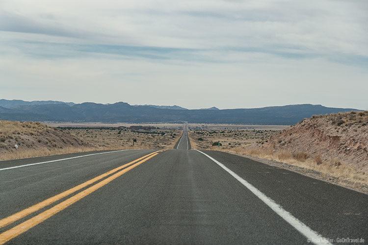 Traumhafter Blick von der Route 66