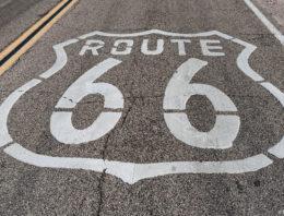 Unterwegs auf der Route 66