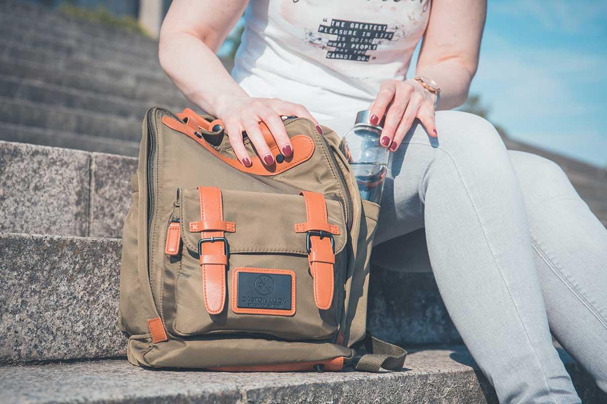 Der Gaston Luca mit extra tiefen Seitentaschen.