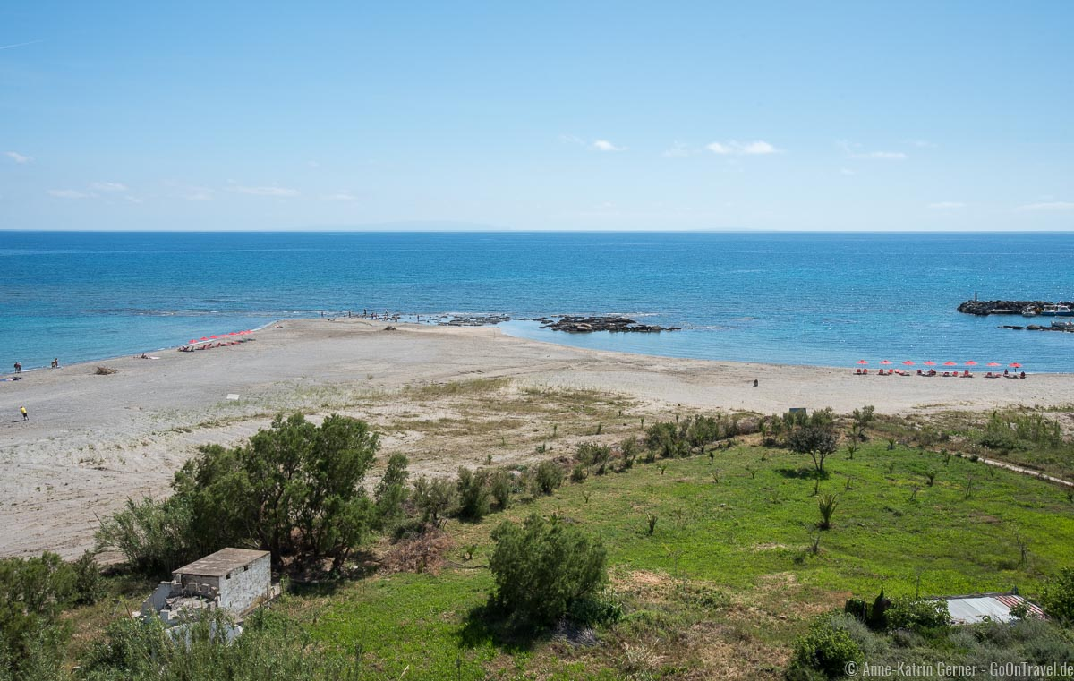 Strand in Frangokastello