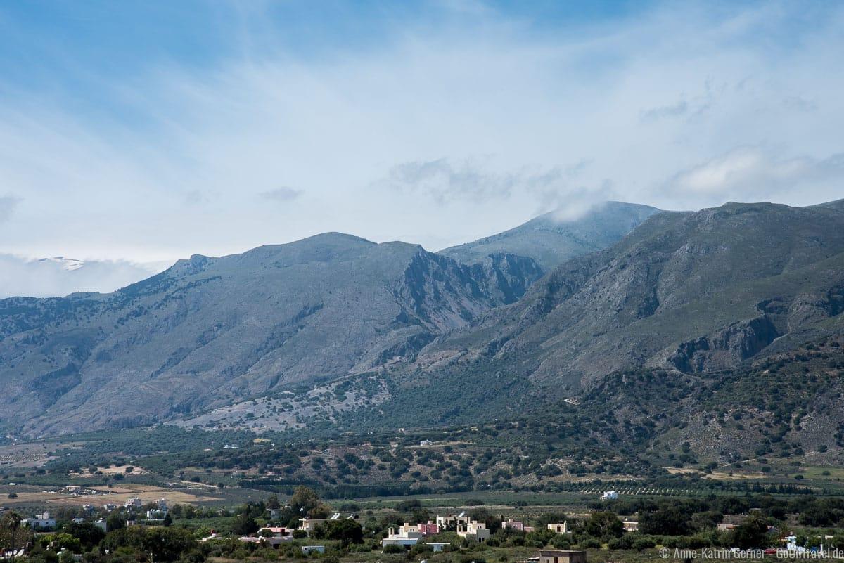 Frangkastello und die weißen Berge