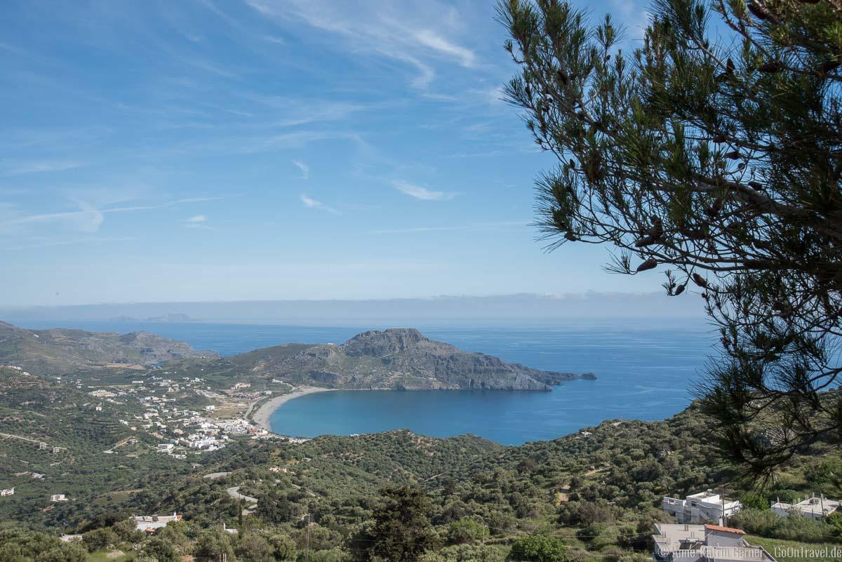Plakias an der Südküste von Kreta
