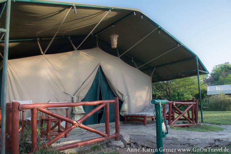 Zelt Mbuzi Mawe Serengeti
