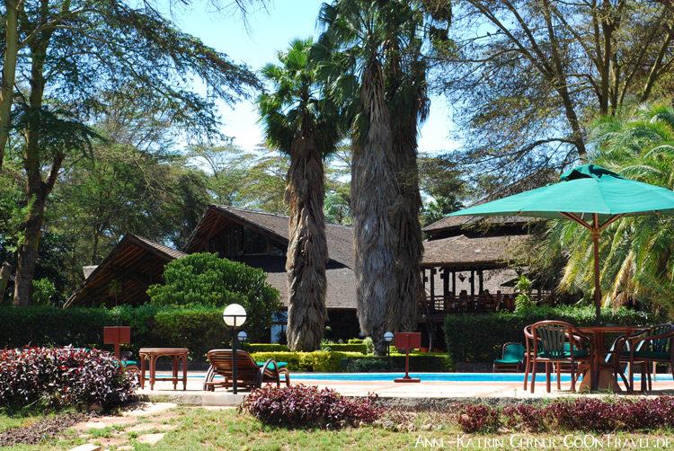 Poolbereich Ol Tukai Lodge Amboseli