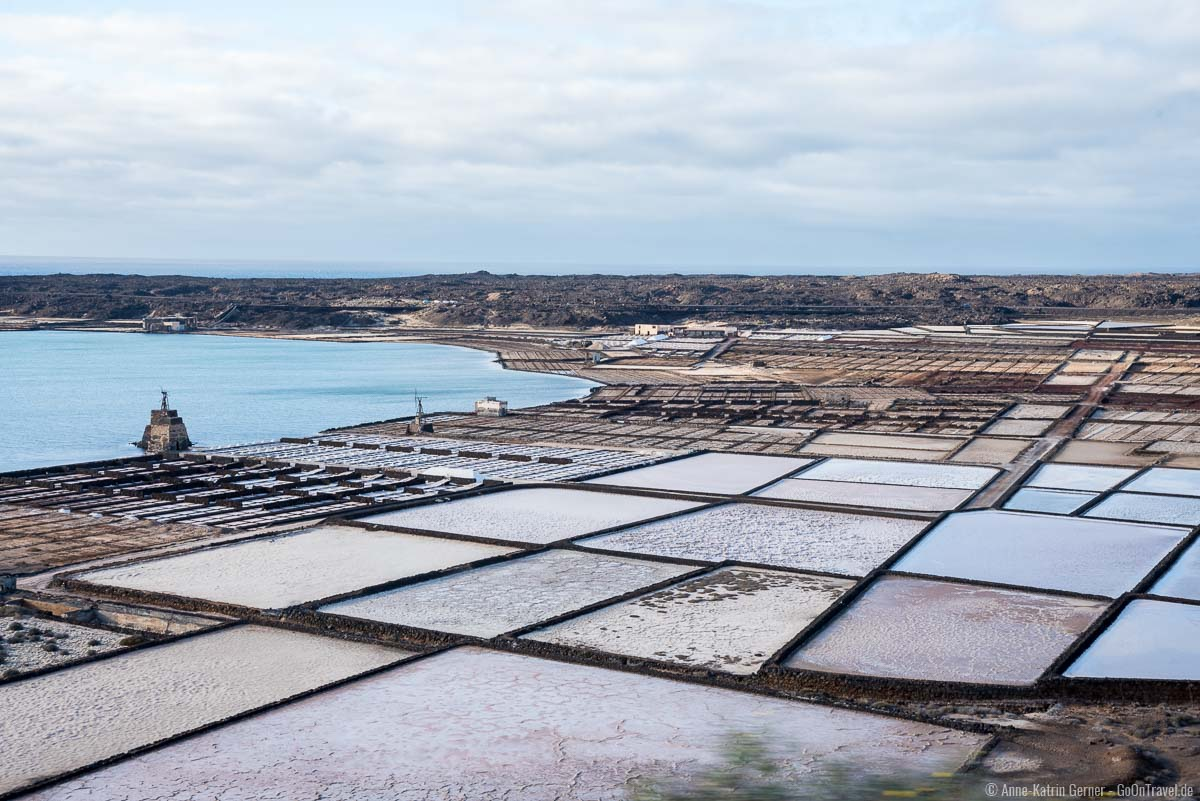 Salzabbau an der Küste von Lanzarote hat eine lange Tradition.