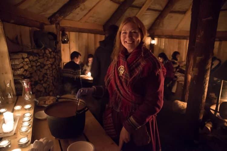 Rentiereintopf bei den Sami in Tromsö