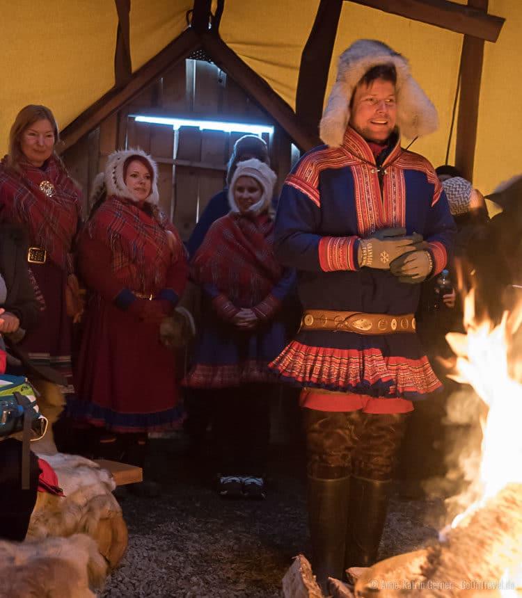Willkommen bei den Sámi in Tromsö