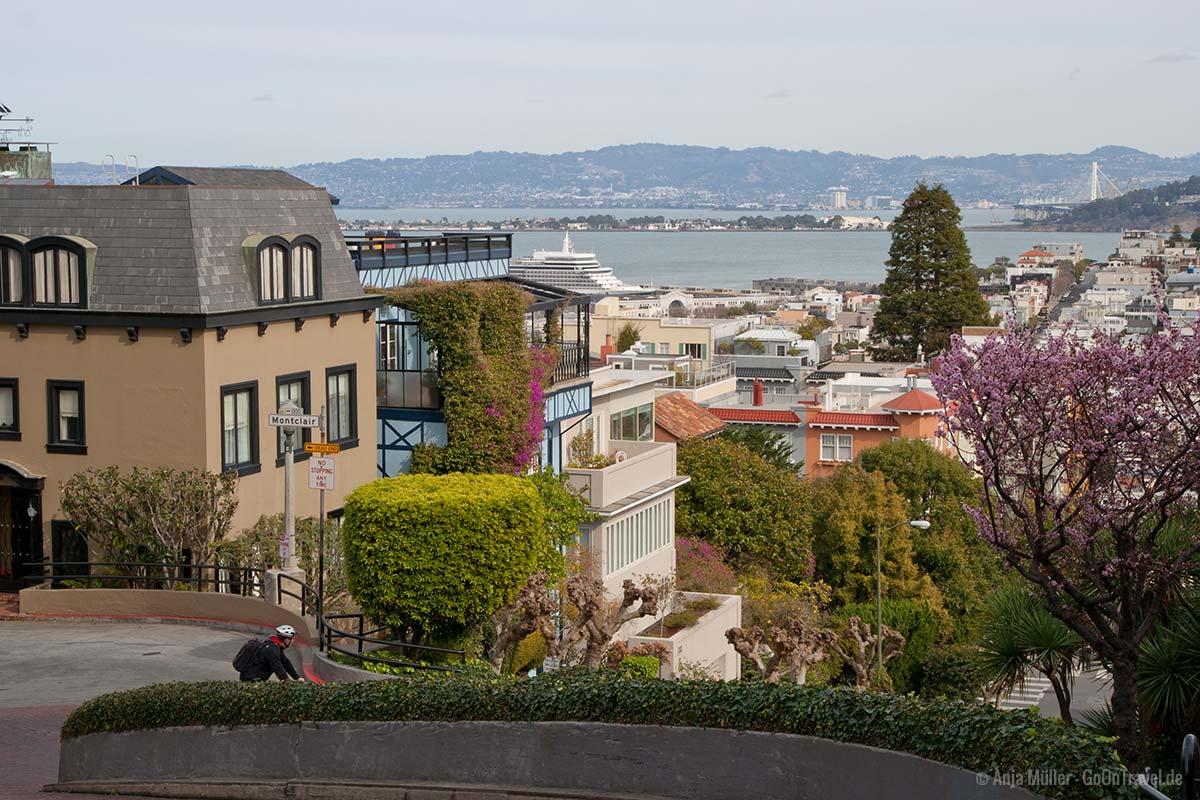 Blick auf die Bucht von San Francisco