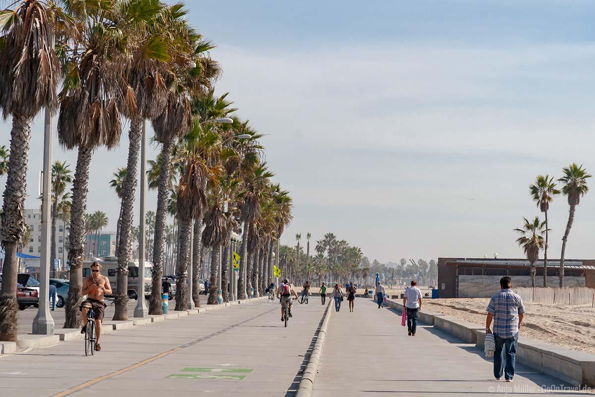 Promenade von Santa Monica