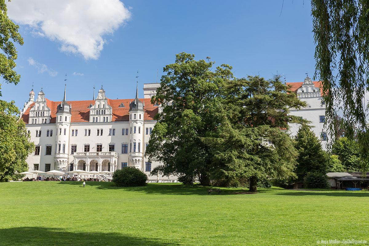 Sieht aus wie ein Märchenschloss: Schloss Boitzenburg