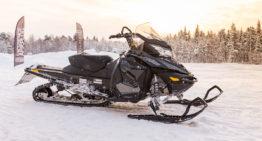 Mit dem Schneemobil durch Schwedisch Lappland