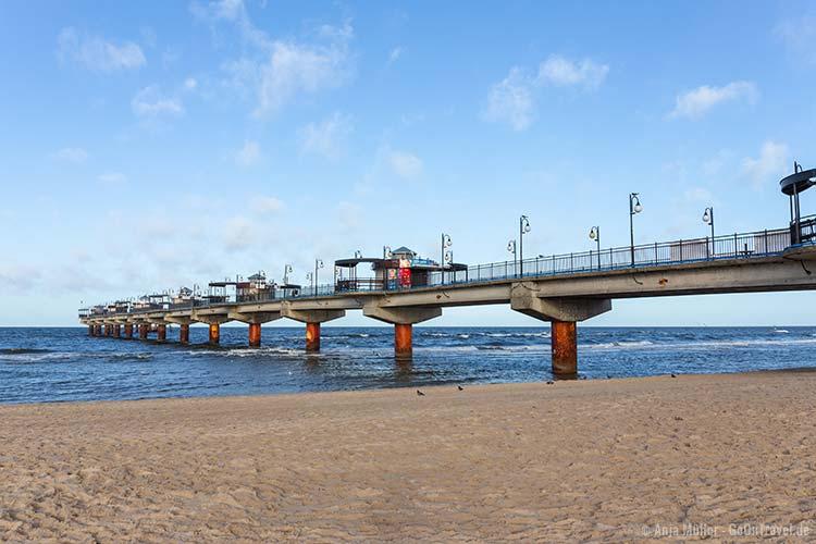 Die Seebrücke von Misdroy