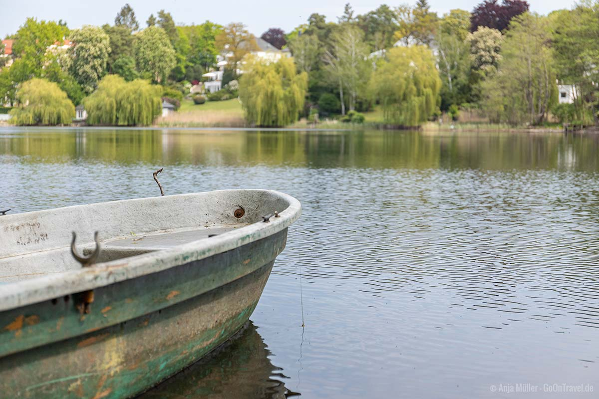 Boot am Hundekehlesee