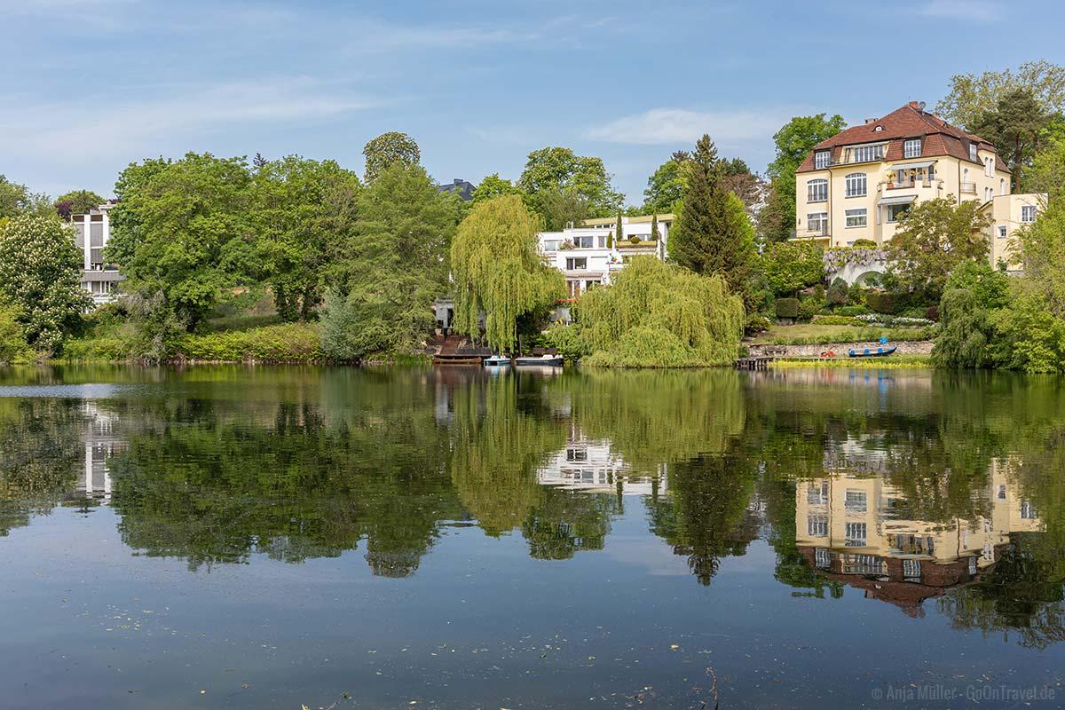 Koenigssee im Villenviertel vom Grundewald
