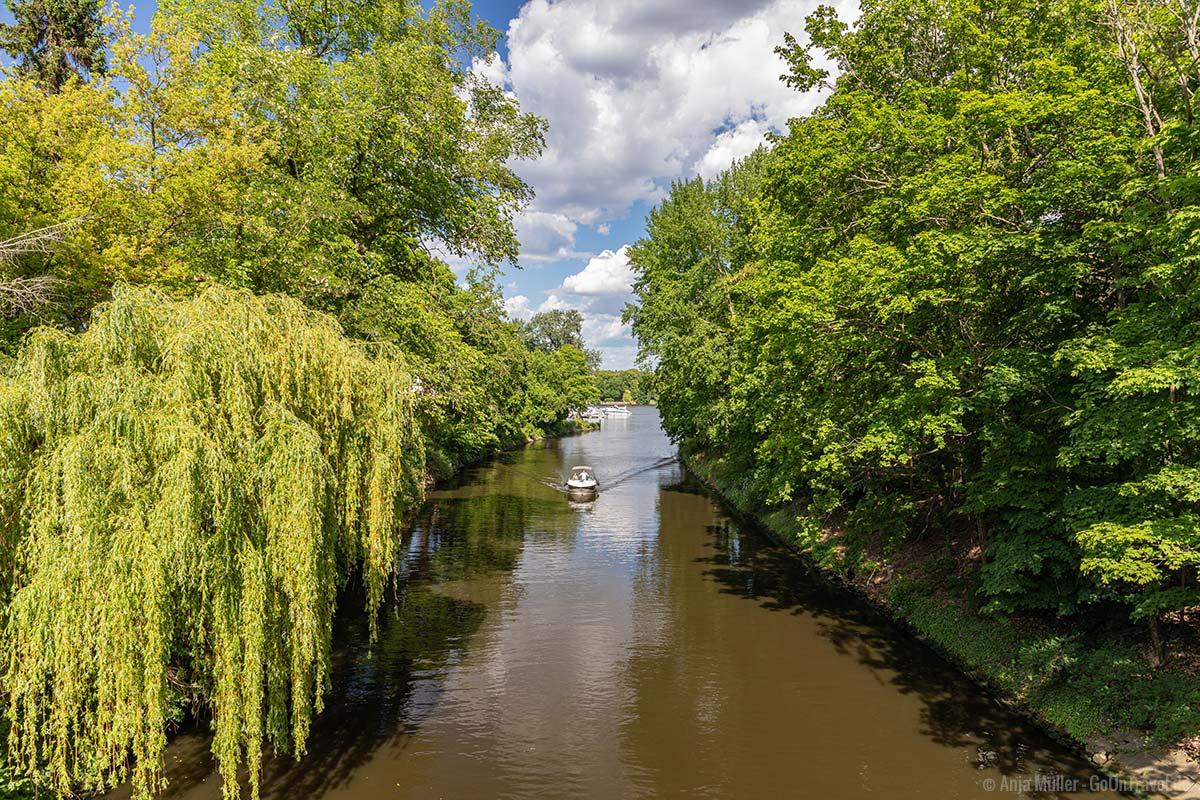 Kanal zwischen Pohlesee und Stölpchensee