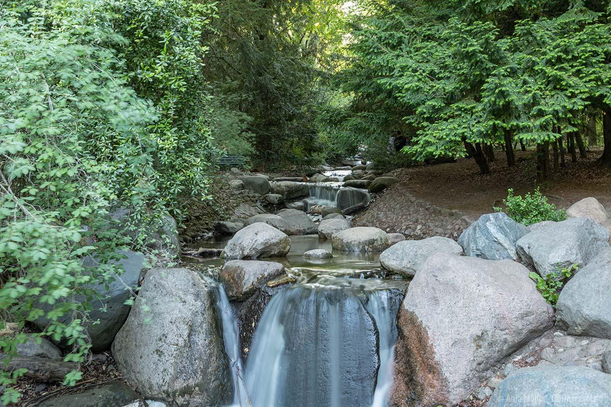 Wasserfall am Steinbergsee