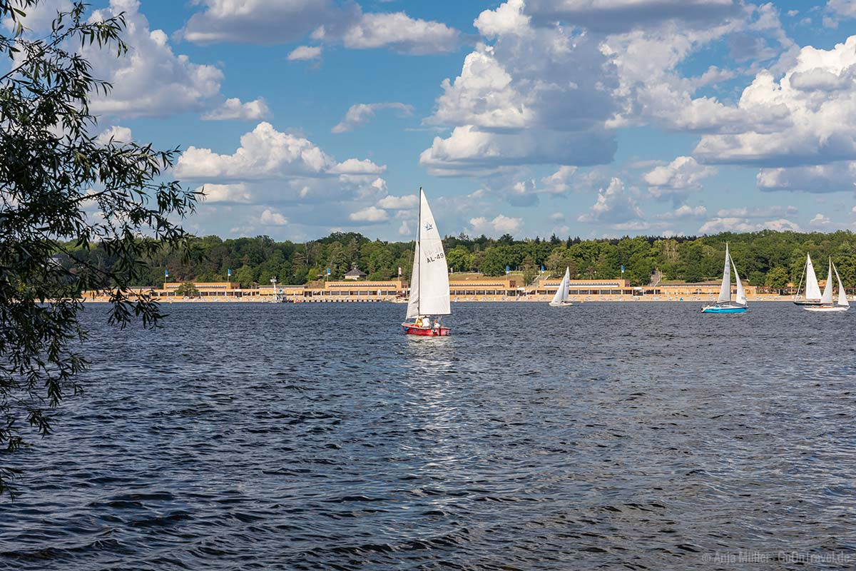 Strandbad Wannsee am Ostufer