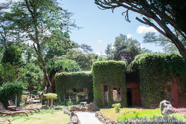 Hauptgebäude Serena Amboseli Lodge