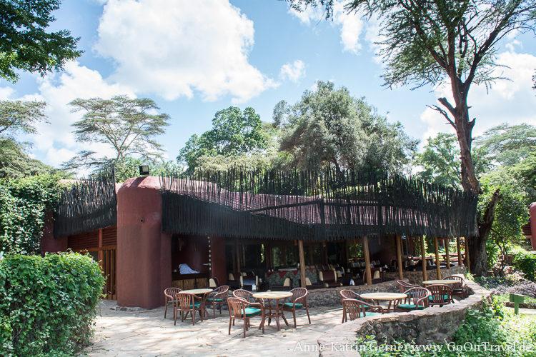Hauptgebäude Serena Amboseli Lodge / Kenia