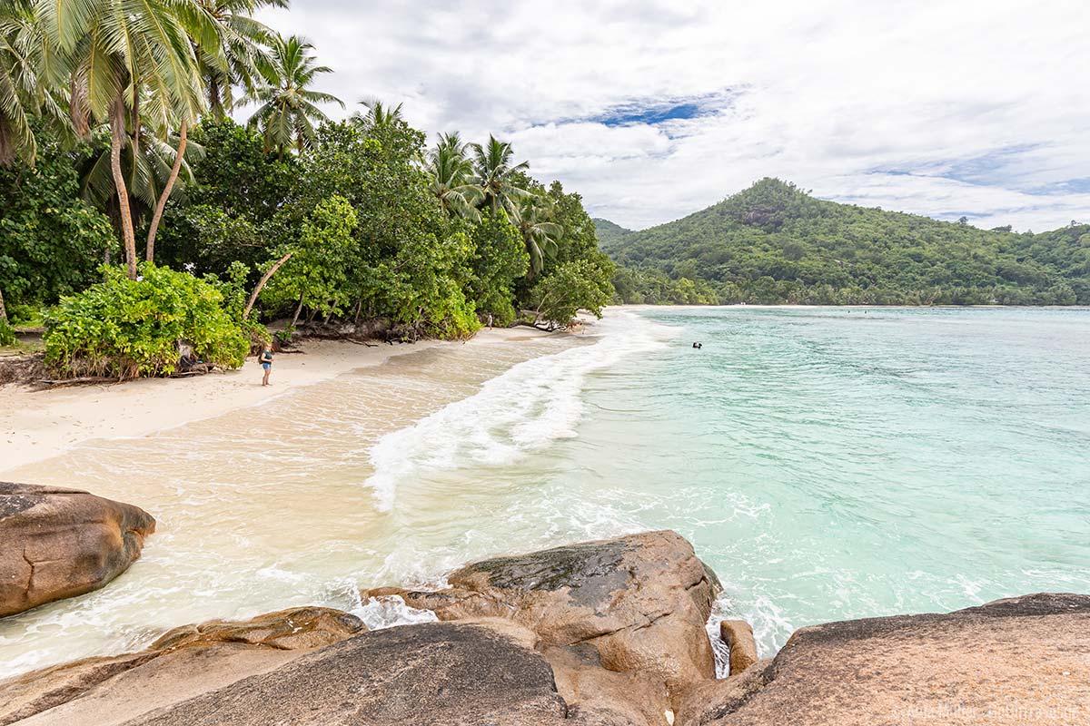 Baie Lazare Beach im Süden von Mahé