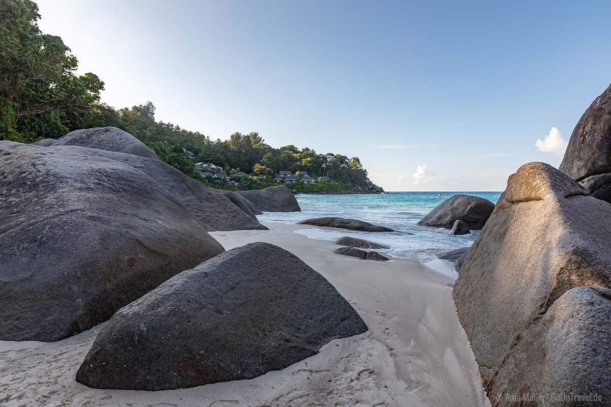 Granitfelsen am Carana Beach