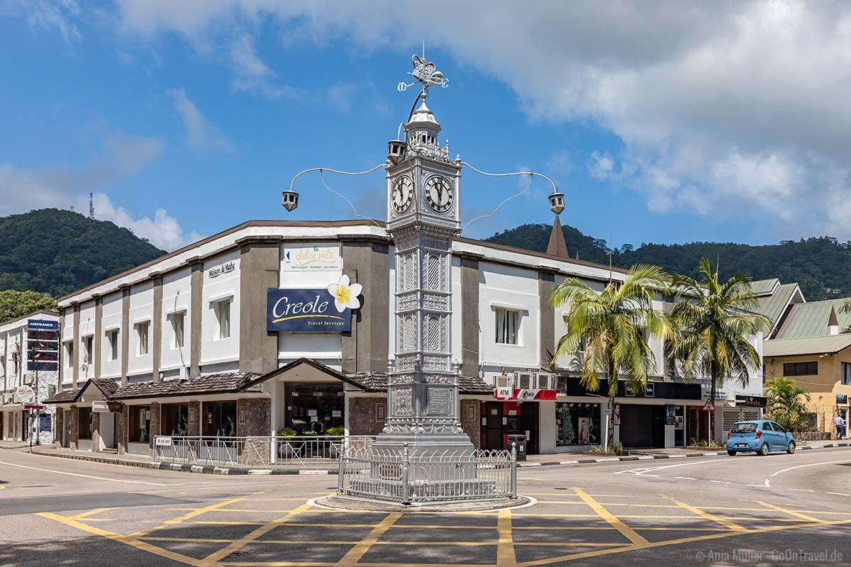 Victoria Clock Tower in der Hauptstadt