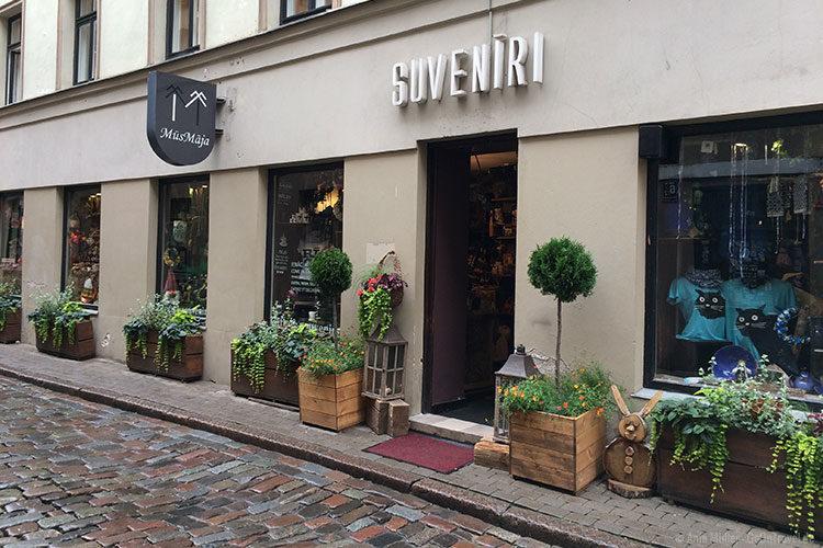 MusMaja Geschäft in Riga