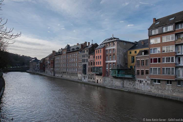 Am Ufer des Sambre in Namur