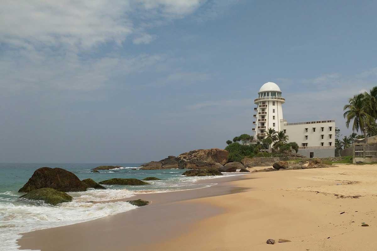 Madampe Beach auf Sri Lanka