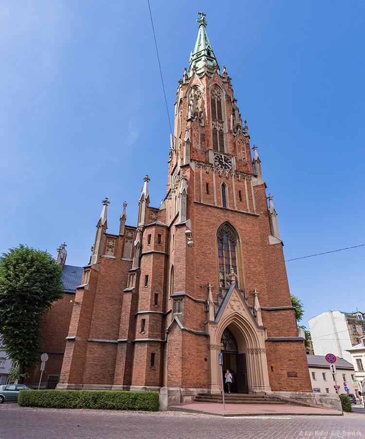 Alte St. Gertrud Kirche in Riga